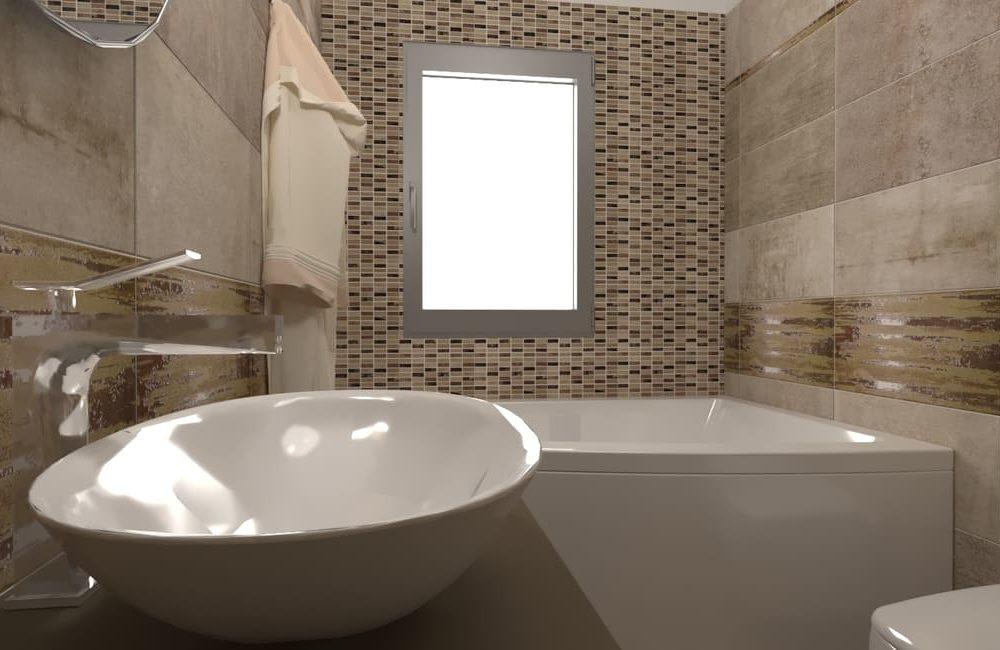 CONCRETEZZA - Stanza da bagno
